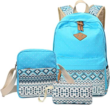 3Pcs Dinosaur Backpack Kids School Bag Shoulder Bag Pencil Case Messenger Bag