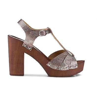 Flare & Brugg Clogs-Sandalette bronze Damen Billig Besten Große Überraschung Ebay Online Billig Mit Paypal Günstig Kaufen Neue Ankunft IeVwIh5N