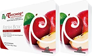Treefrog Fresh Box Apple Squash Scent 2 Packs, Tree Frog Car Air Freshener