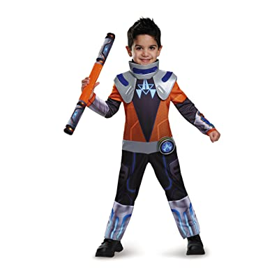 Miles Chrome Classic Toddler Miles From Tomorrowland Disney Costume, Large/4-6: Toys & Games