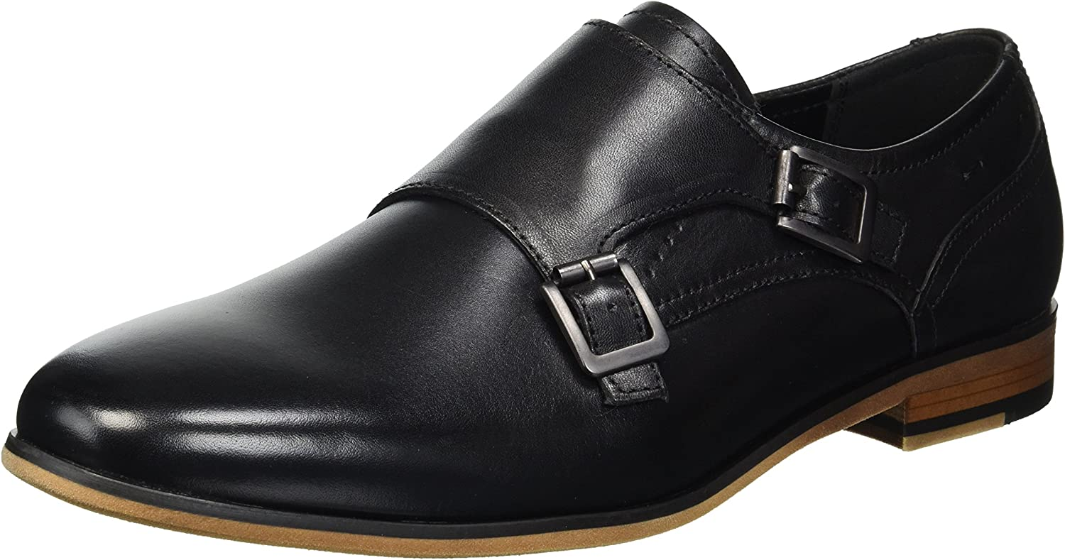 TALLA 43 EU. Kenneth Cole Reaction Guy Monk, Zapatos de Cordones Oxford para Hombre