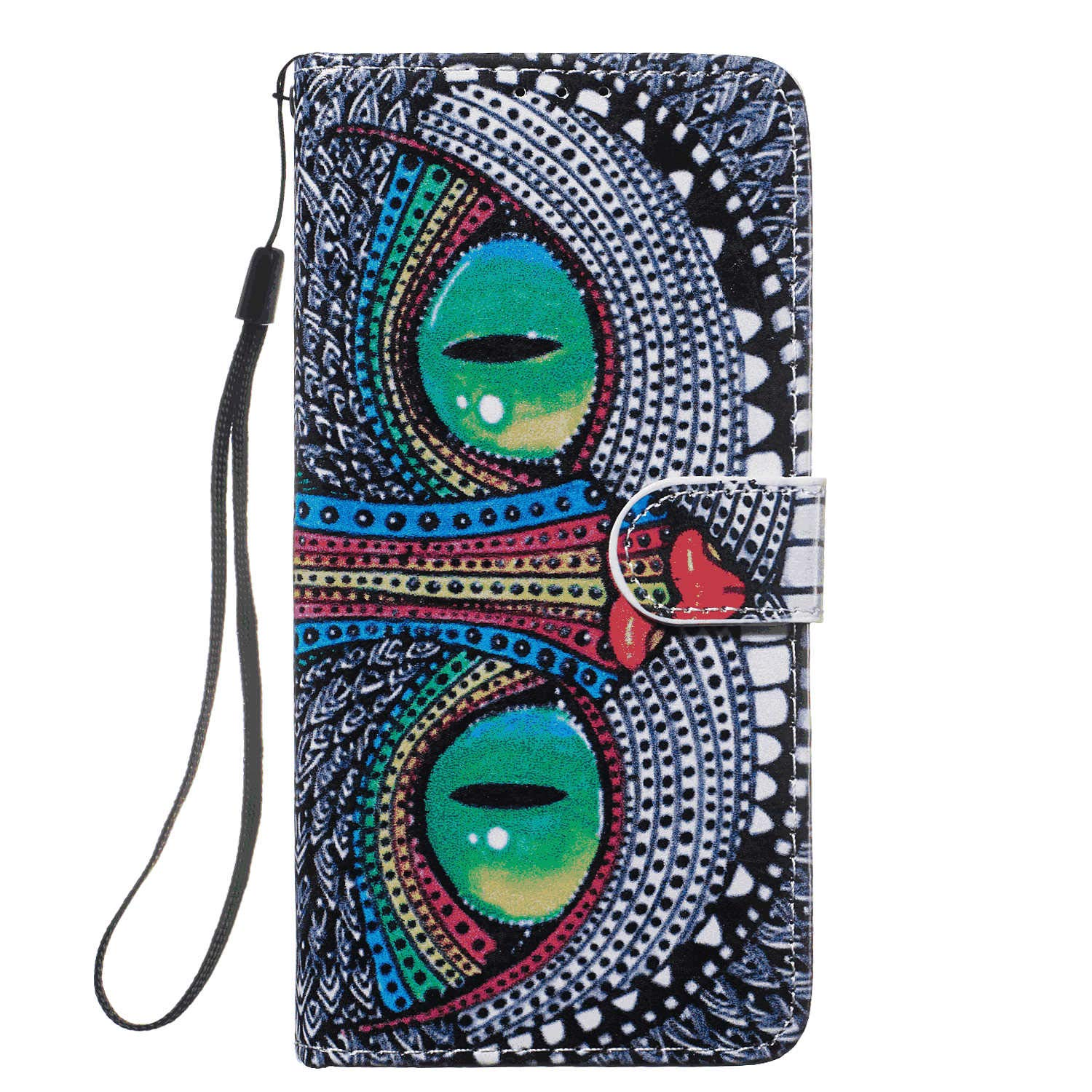 Cover for Samsung Galaxy S10 Plus Leather Mobile Phone case Kickstand Card Holders Luxury Business with Free Waterproof-Bag Fashion Samsung Galaxy S10 Plus Flip Case