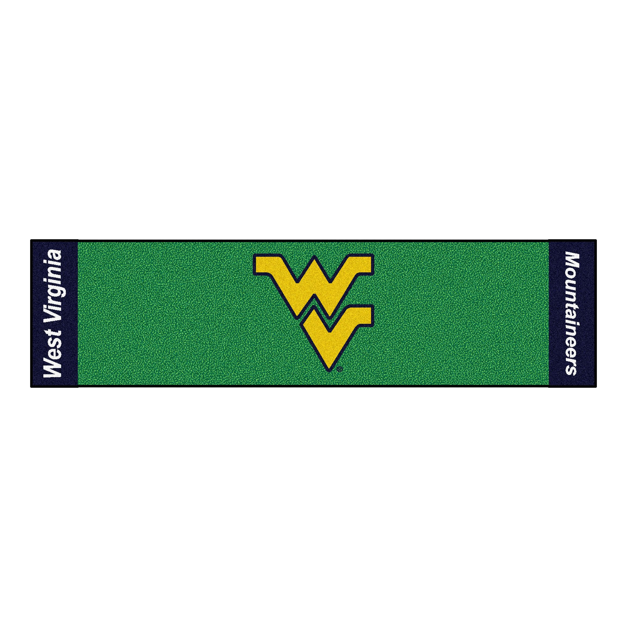 NCAA West Virginia University Mountaineers Putting Green Mat Golf Accessory by Unknown (Image #1)