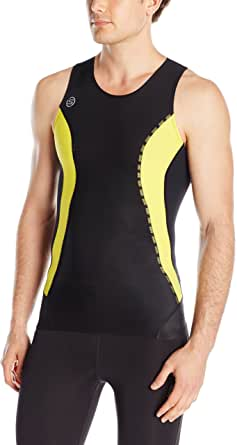 SKINS Mens DNAmic Men's Compression Sleeveless Top