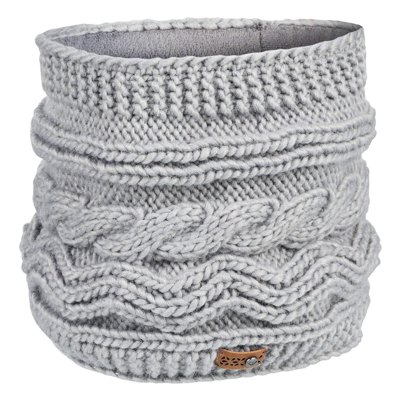 Roxy Winter Collar Neck Gaiter One Size Warm Heather Grey