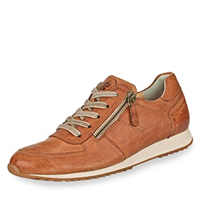 premium selection 6f65b 86e76 Paul Green 4252-241 Damen Sneaker aus hochwertigem Leder gepolsteter  Schaftrand