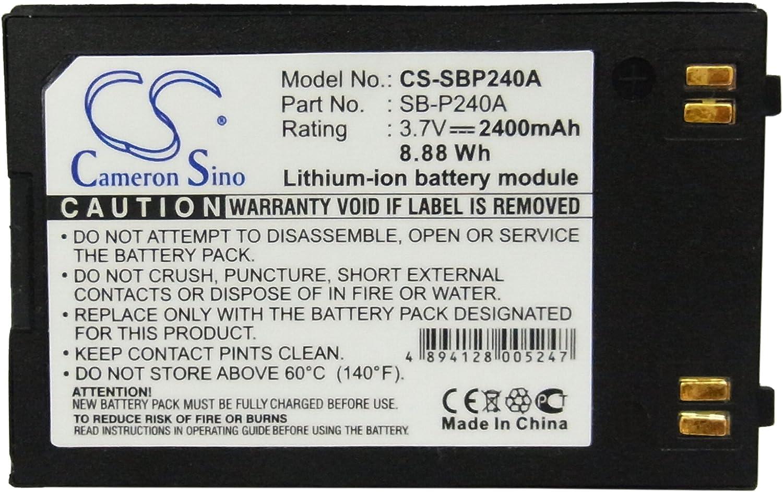 Replacement Battery for SC-MM10 SC-MM10BL SC-MM10S SC-MM11 SC-MM11BL SC-MM11S SC-MM12 SC-MM12BL SC-MM12S SC-X205L SC-X205WL SC-X210L SC-X210WL SC-X220L SC-X300 SC-X300L VP-X205L VP-X210L VP-X220L