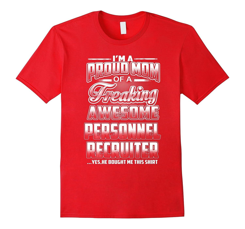 Personnel Recruiter Mom T-shirt-Art