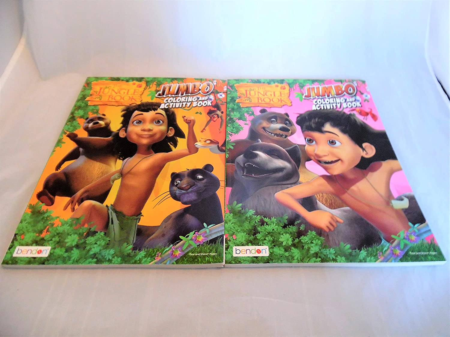 Jungle Book Coloring Books-2 Pack Bendon