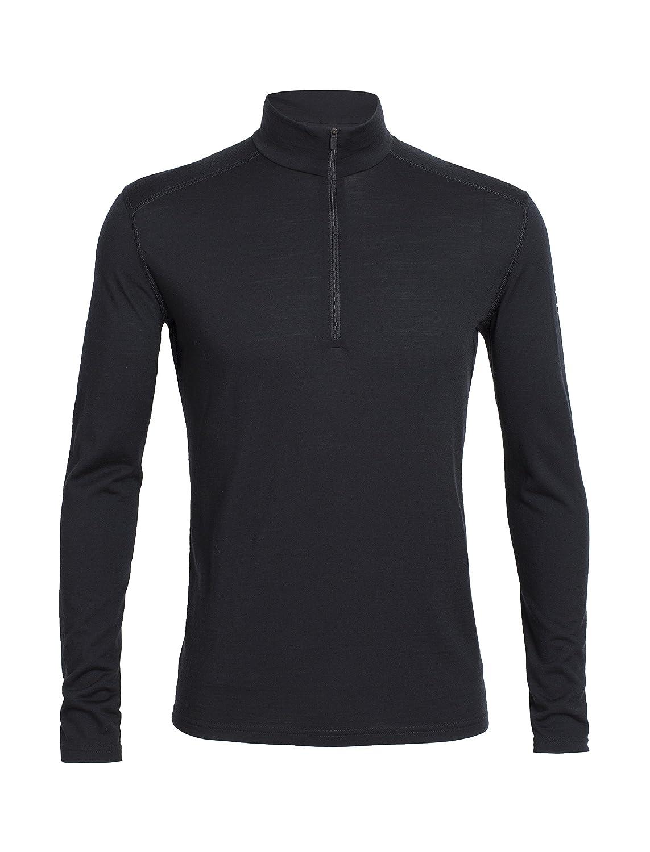 Icebreaker Herren Shirt Unterhemd Langarm Rollkragen Oasis Longsleeve Half Zip