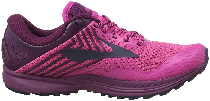 Brooks Damen Mazama 2 Traillaufschuhe, Pink (Pink/Plum/Navy 1b641), 41 EU