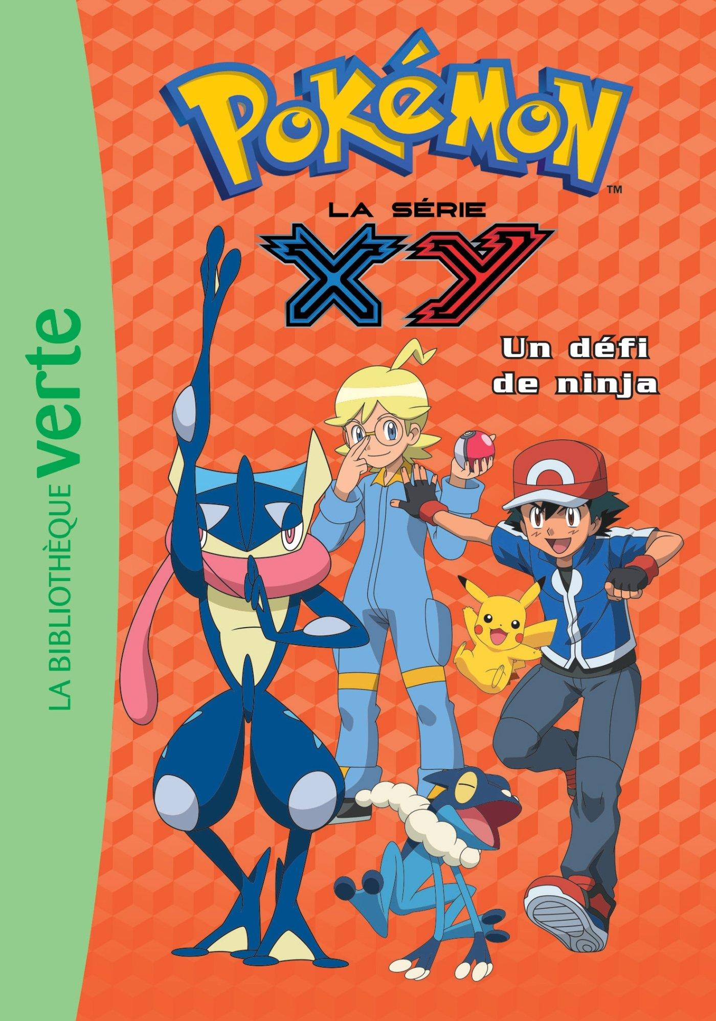 Pokémon 23 - Un défi de ninja Ma Première Bibliothèque Verte ...