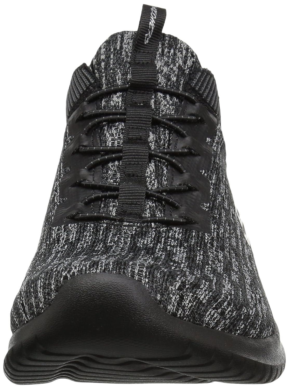 Skechers Women's Ultra Flex Bright Horizon Sneaker B01MUD1PN4 7.5 B(M) US Black Charcoal