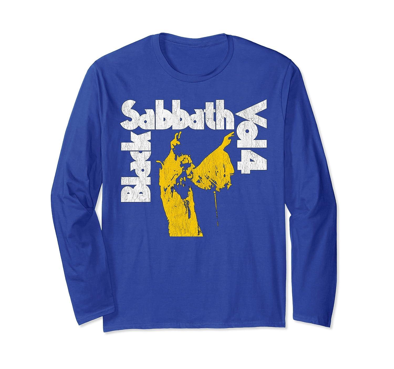 Black Sabbath Christmas Sweater.Black Sabbath Vol 4 Longsleeve Mt