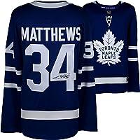 $374 » Auston Matthews Toronto Maple Leafs Autographed Blue Fanatics Breakaway Jersey - Autographed NHL Jerseys
