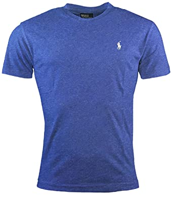 RALPH LAUREN Polo Men's Classic Fit Crew Neck T-Shirt Short Sleeve (Small,