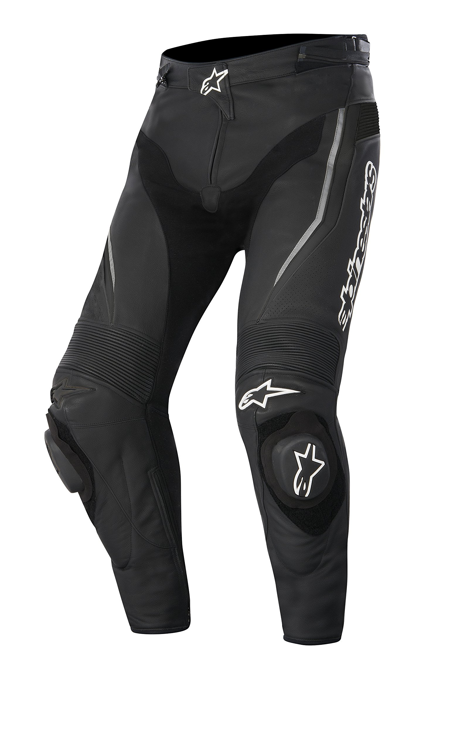 Alpinestars Track Men's Sports Bike Motorcycle Pants - Black / Size 44