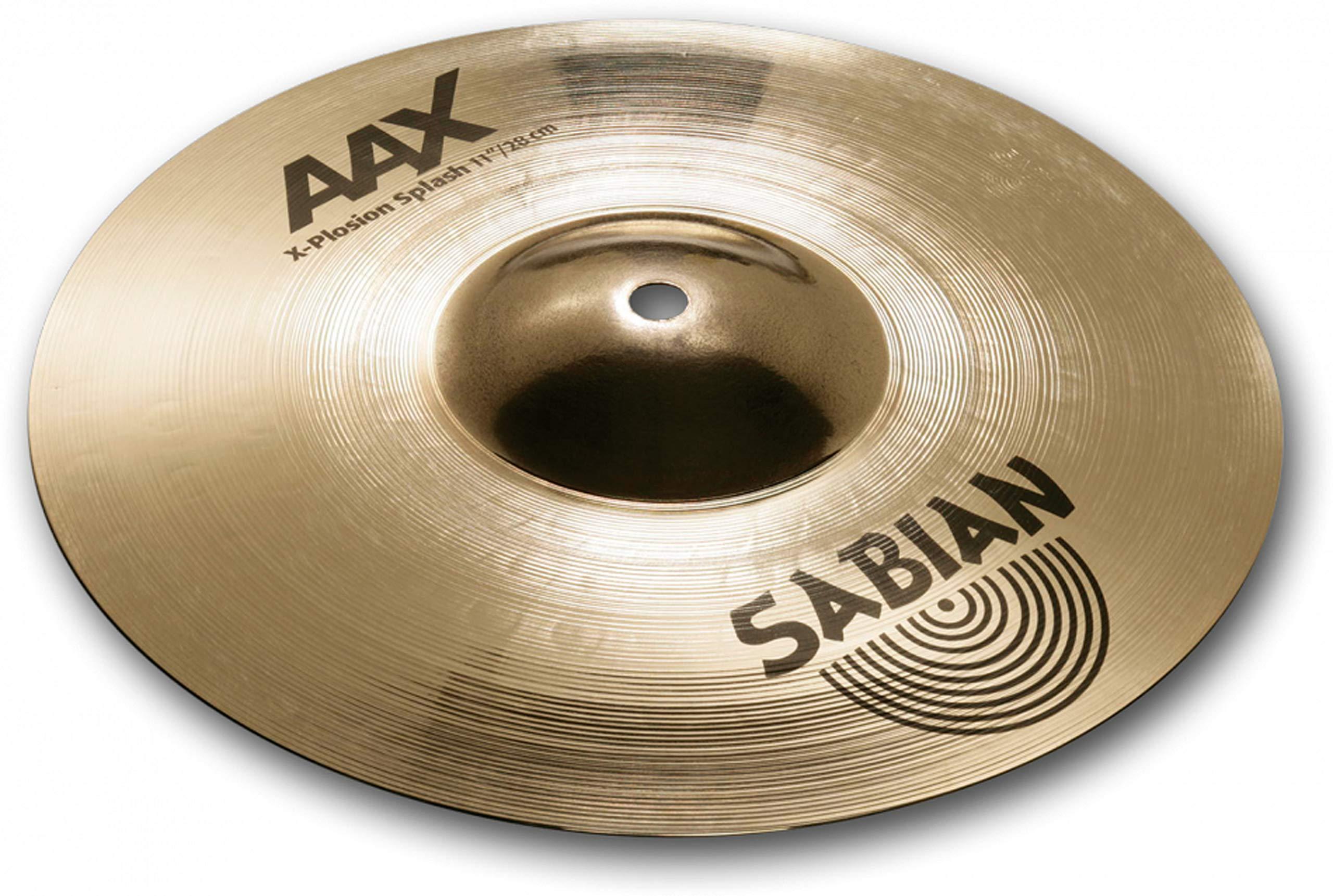 Sabian AAX 11'' X-Plosion Splash Cymbal, Brilliant Finish by Sabian