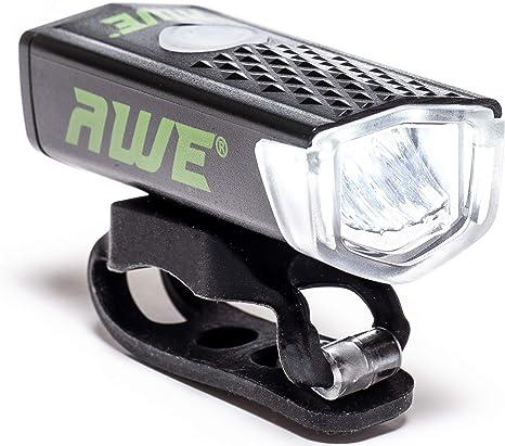 AWE® awe300tm 1 x Awe frontal LED USB Recargable Luz Delantera ...