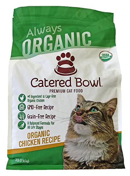 Amazon Catered Bowl Organic Chicken Pet Food For Cat 3 Lb