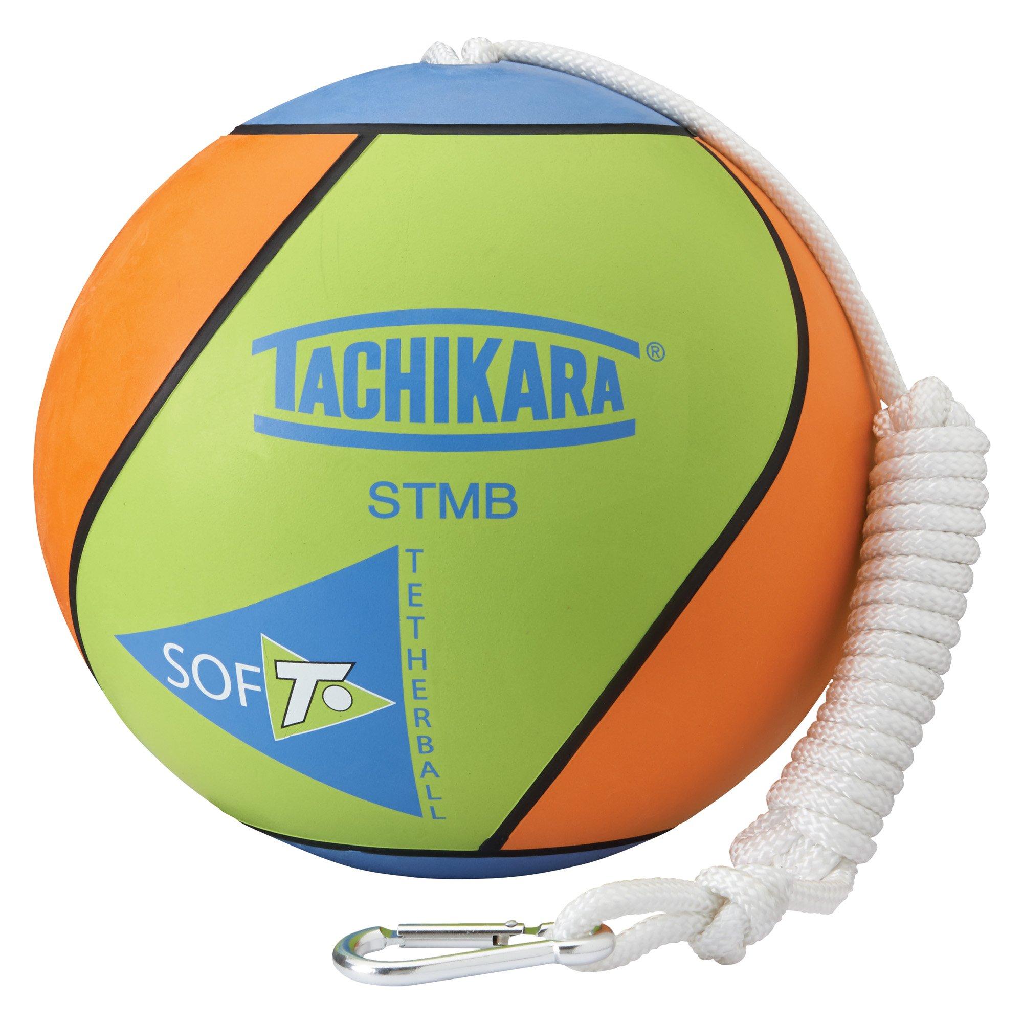 Tachikara STMB Tetherball, Lime Green/Blue/Orange by Tachikara