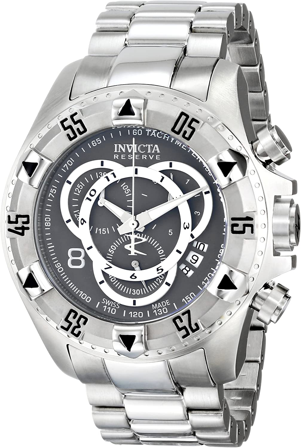 Invicta Men s 5524 Reserve Collection Chronograph Touring Edition Stainless Steel Watch
