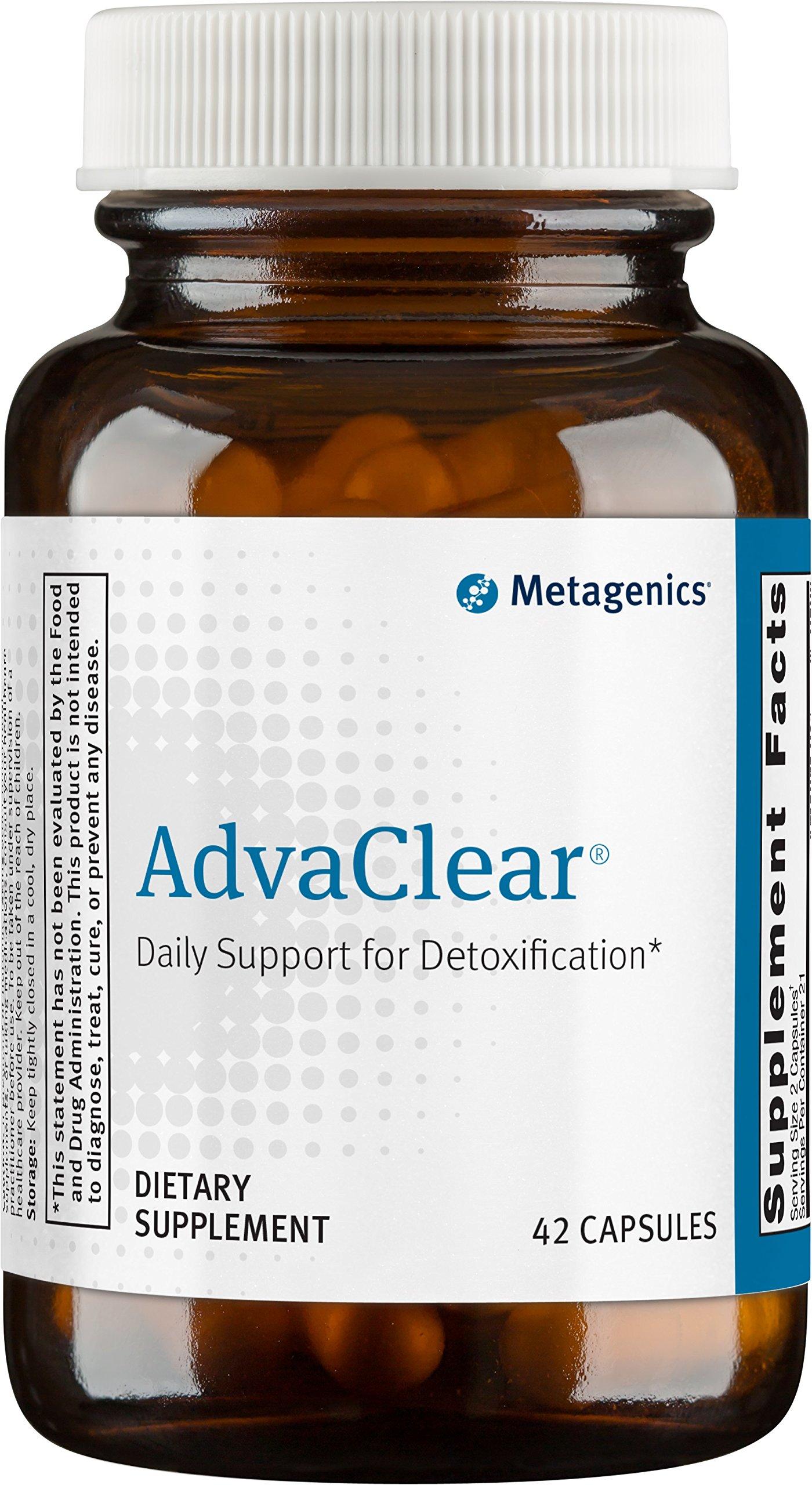 Metagenics - AdvaClear, 42 Count