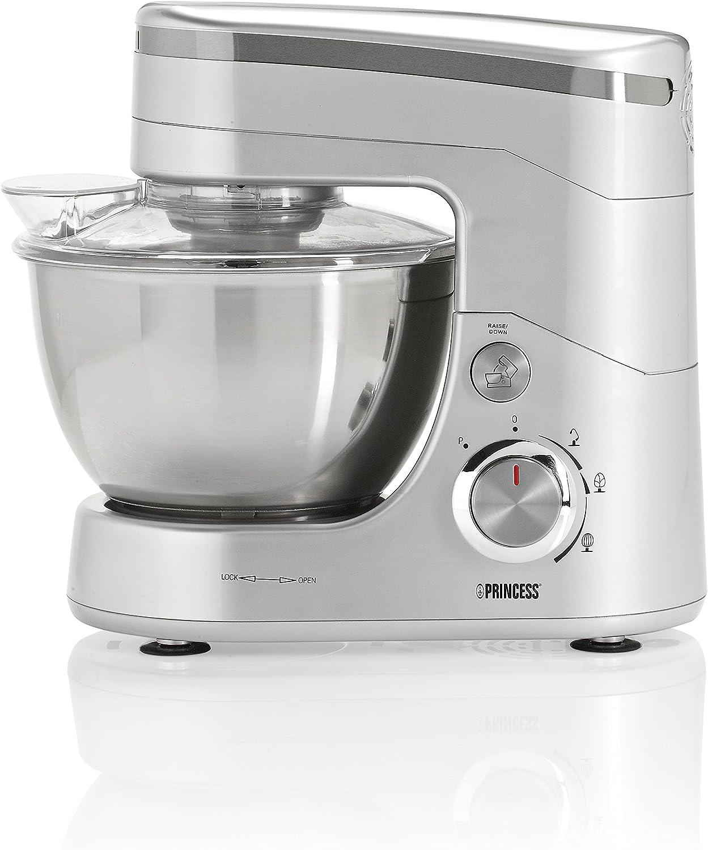 Princess 220120 Robot de Cocina, 600 W, 4.5 litros, Acero ...