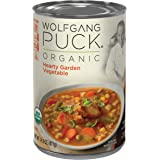 Wolfgang Puck Organic Hearty Garden Vegetable Soup, 14.5 oz (Pack of 12)