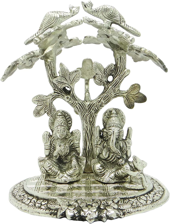 インドガネーシャ神Laxmi Statue Ganpati Deity Religious HinduテーブルホームDecor