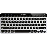Logitech Bluetooth Easy-Switch K811 Keyboard for Mac, iPad, iPhone - Silver/Black (920-004161)