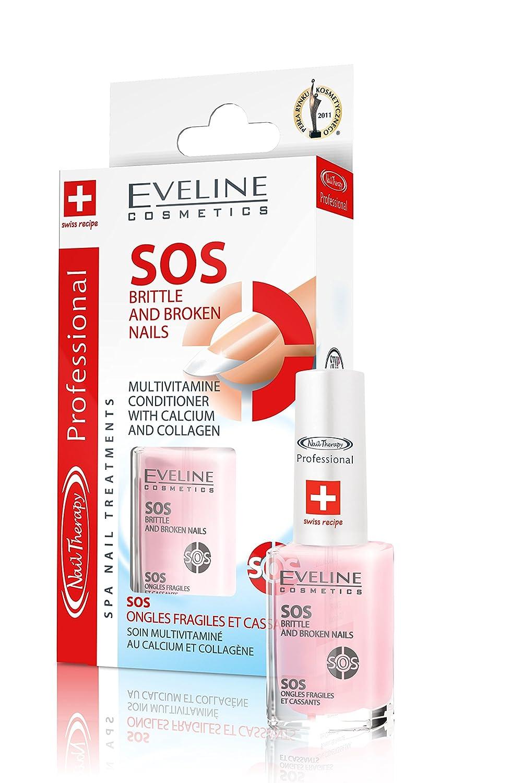Eveline Cosmetics SOS Brittle and Broken Nail Treatment Multivitamin Moleo-Baby M00005128