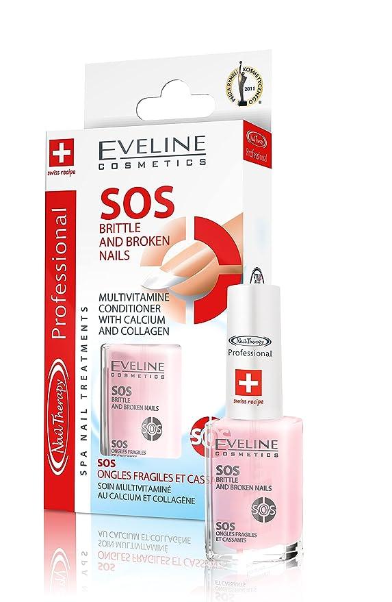 Eveline Sos Britle and Broken Nails 12ml Conditioner: Amazon.co.uk ...