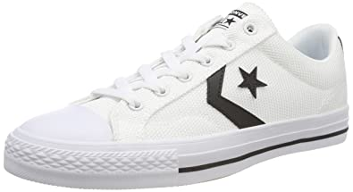 Image Unavailable. Image not available for. Color  Converse Unisex Adults  Star  Player OX Black White Trainers ... 1949d6b7f