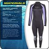 Neo Sport Wetsuits Women's Premium Neoprene 5mm Full Suit
