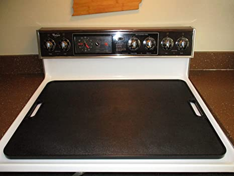 More Counter Space Stove Top Stove Burner Covers | Countertop 19x27 Large Cutting Board Kitchen Accessories for More Kitchen Space | Sturdy & Easy to ...