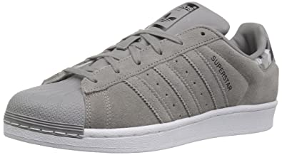 adidas Originals Unisex-Kids Superstar Sneaker, Ch Solid Grey/Ch Solid Grey/