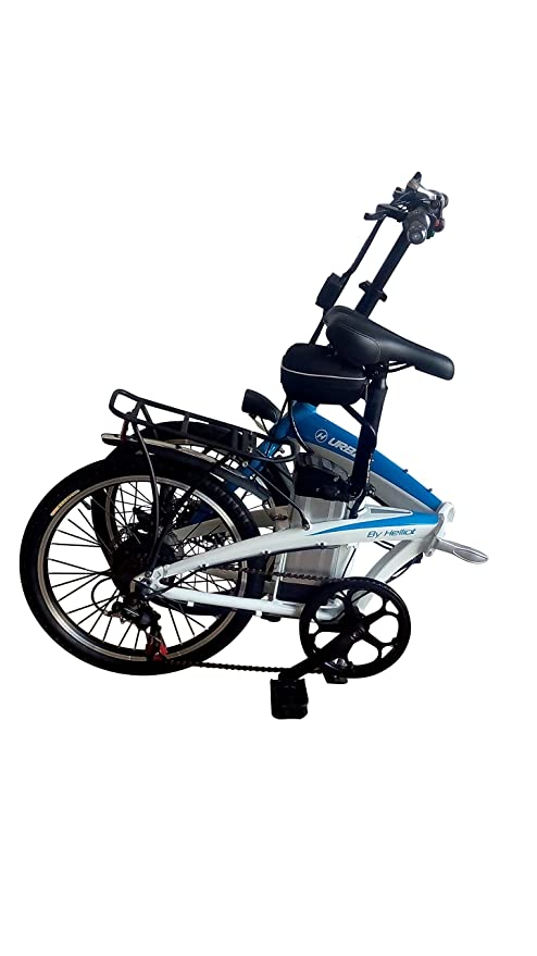 Bicicleta eléctrica plegable, Motor Brushless 250W, Batería de Litio 48V8Ah, Sistema PAS, Frenos de disco, Shimano: Amazon.es: Deportes y aire libre