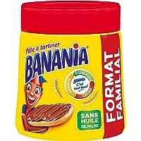 BANANIA Pâte à Tartiner sans huile de palme - 600g - Lot de 3 (3x600g)