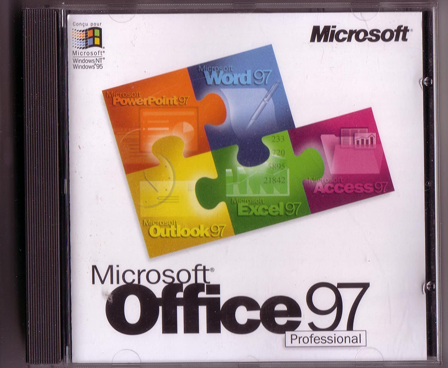 Microsoft Office 97 Professional Edition with Bookshelf (Full)