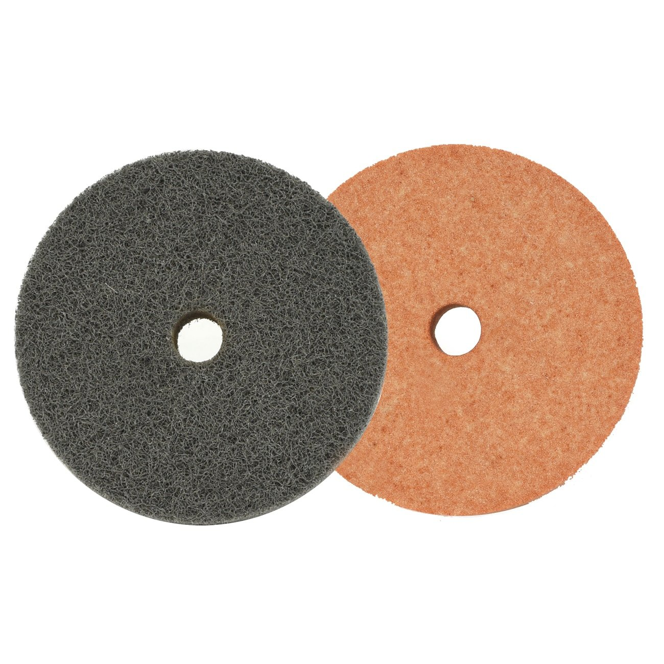 2-Piece Neiko 11057A Replacement Grinding and Fiber Wheel for 3-Inch Mini Grinder Bench