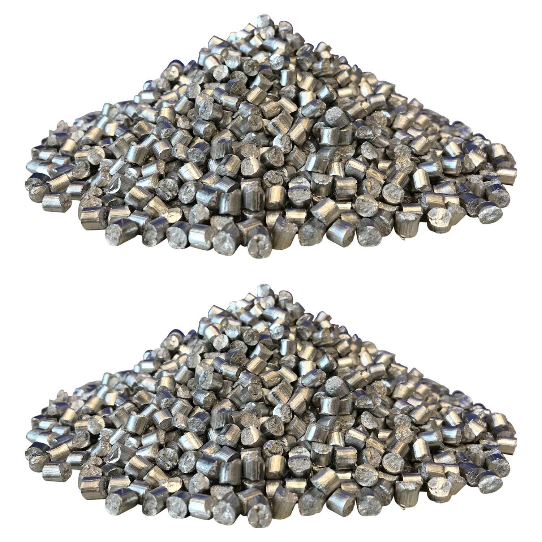 純マグネシウム99.95% ペレット(粒)φ6mmxL6mm【大容量】 (1kg) B07SSDY49G  1kg