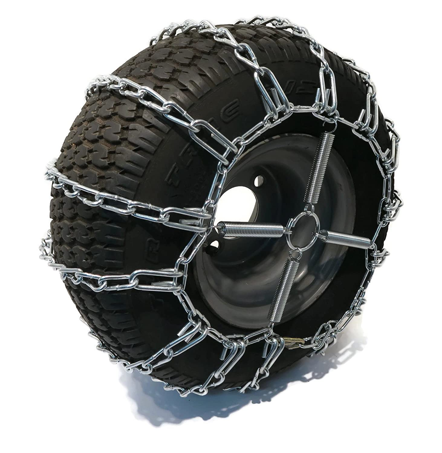 The ROP Shop 2 Link TIRE Chains /& TENSIONERS 20x8x8 for John Deere Lawn Mower Tractor Rider