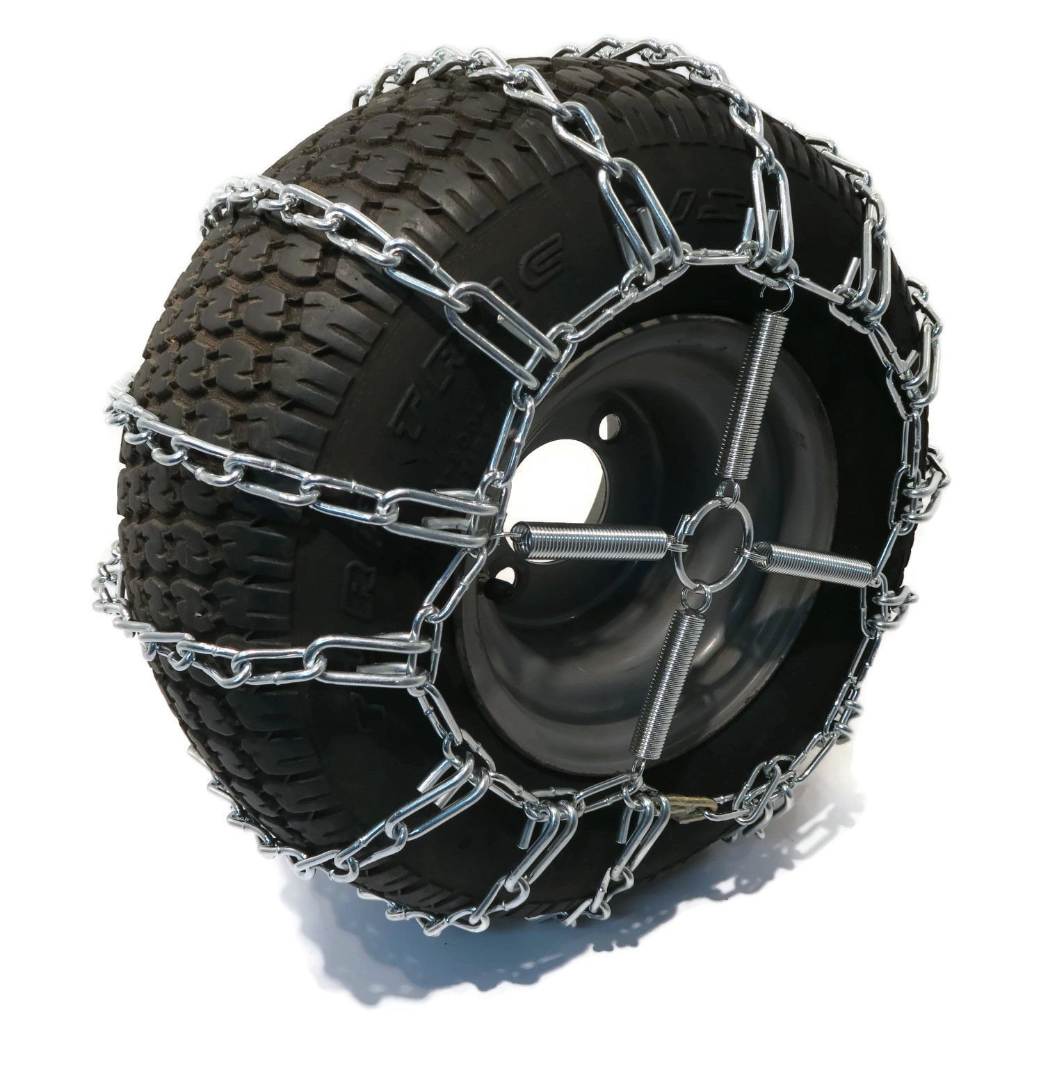 The ROP Shop 2 Link TIRE Chains & TENSIONERS 23x10.5x12 for MTD Cub Cadet Lawn Mower Tractor by The ROP Shop (Image #2)