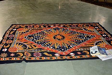 Mandala Yoga Hojas de Picnic Tapiz Hojas Yoga - Esterilla de ...