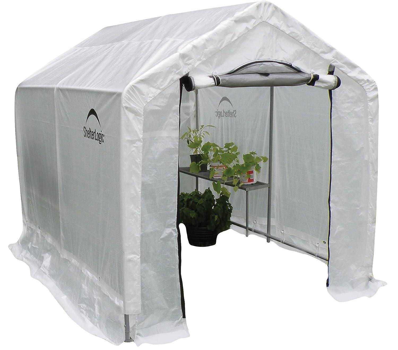 Amazon ShelterLogic Peak Style Backyard Greenhouse