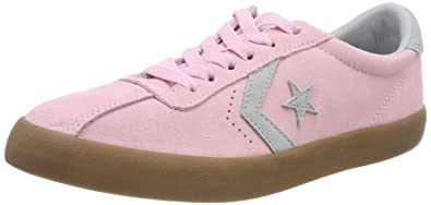 458b2baa391 Converse Unisex Kids' Lifestyle Breakpoint Ox Suede Fitness Shoes, Pink  (Cherry Blossom/