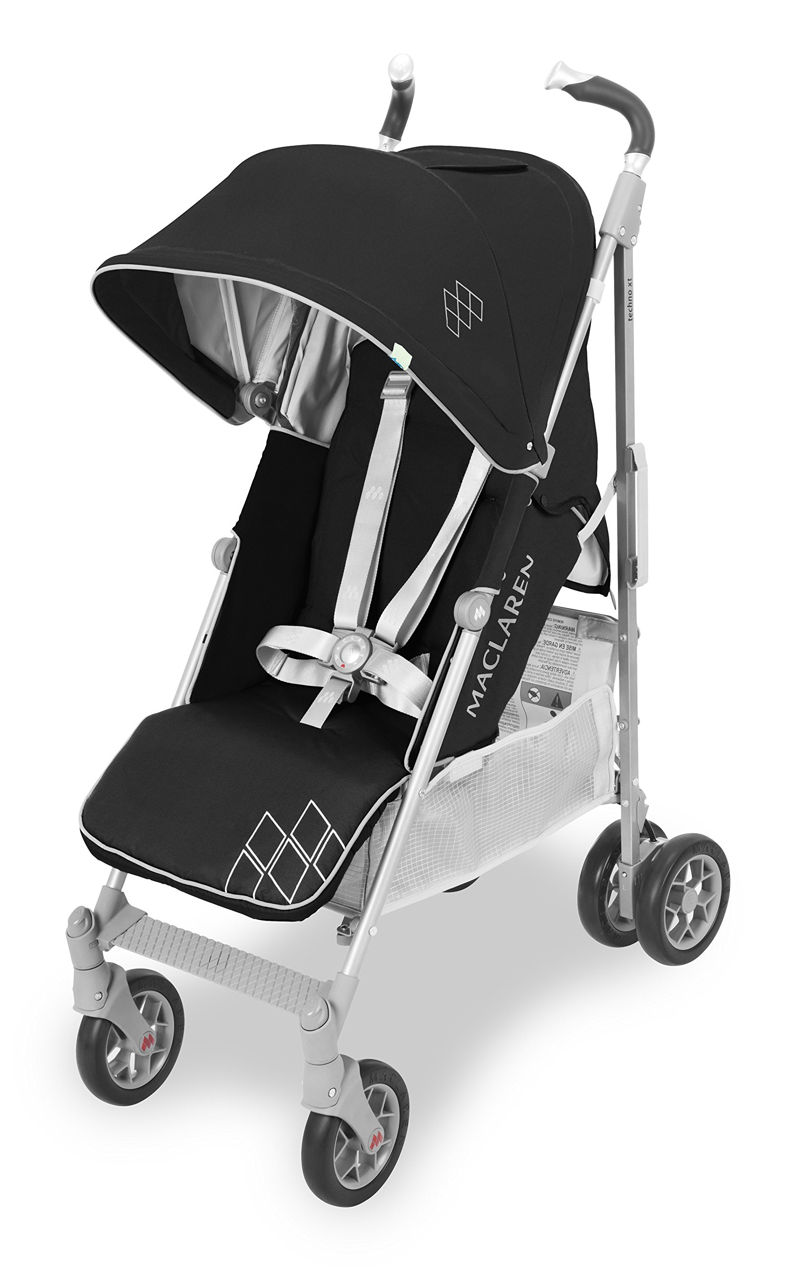 Maclaren Techno XT - Silla de paseo, color negro y gris product image