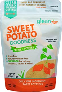 product image for Glean Sweet Potato Goodness | Sweet Potato Flour and Super Food Powder | Paleo, Vegan, No Added Sugar | 8 oz.
