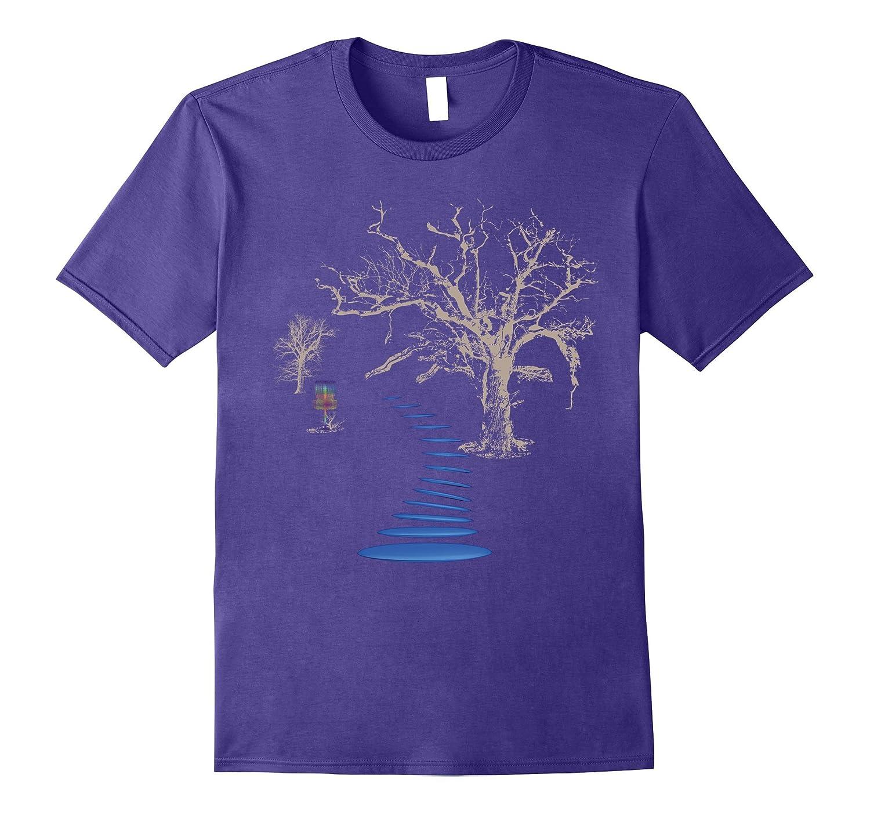 Disc Golf Into The Woods Disc Golf T-Shirt